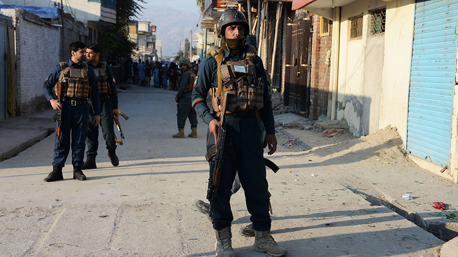 Suicide bomber gunmen attack save the children office in afghanistan rt world news - Save the children press office ...