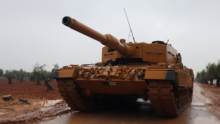 Turkey will 'thwart games' along its borders, starting at Manbij in Syria - Erdogan