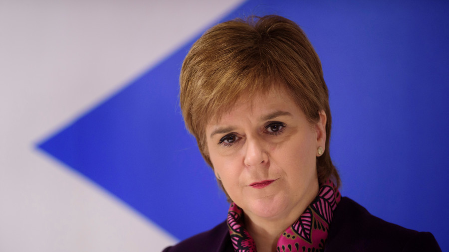Nicola Sturgeon tweets response to Union Jack flag row
