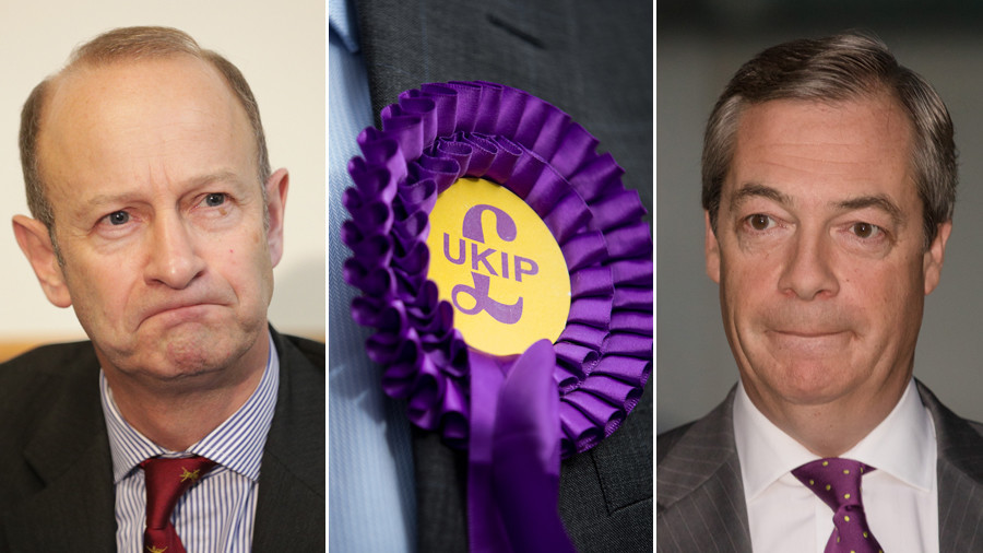 'Reform or die': Farage blasts UKIP as leader Bolton on verge of going broke