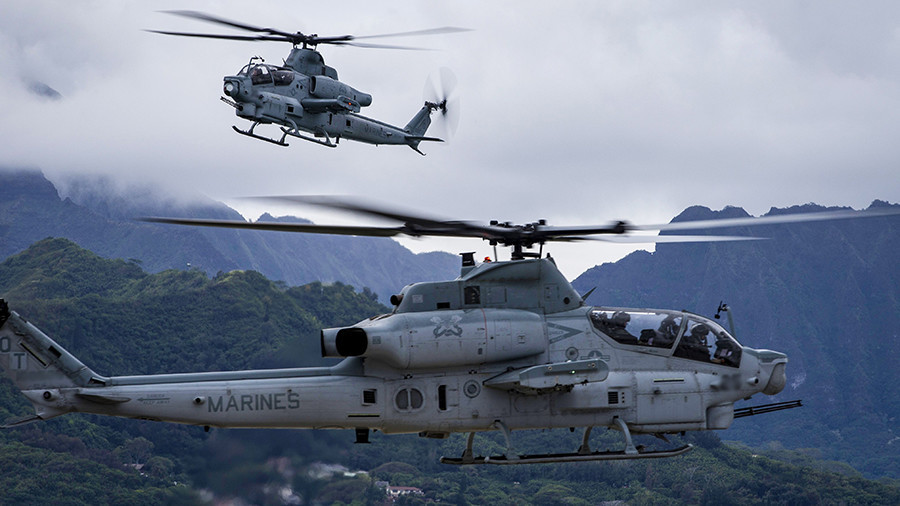 'US military crazy, out of control': Japanese governor furious after chopper near-misses