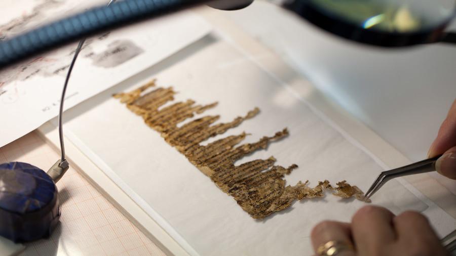 Researchers finally decipher ancient Jewish Dead Sea scroll written in secret code