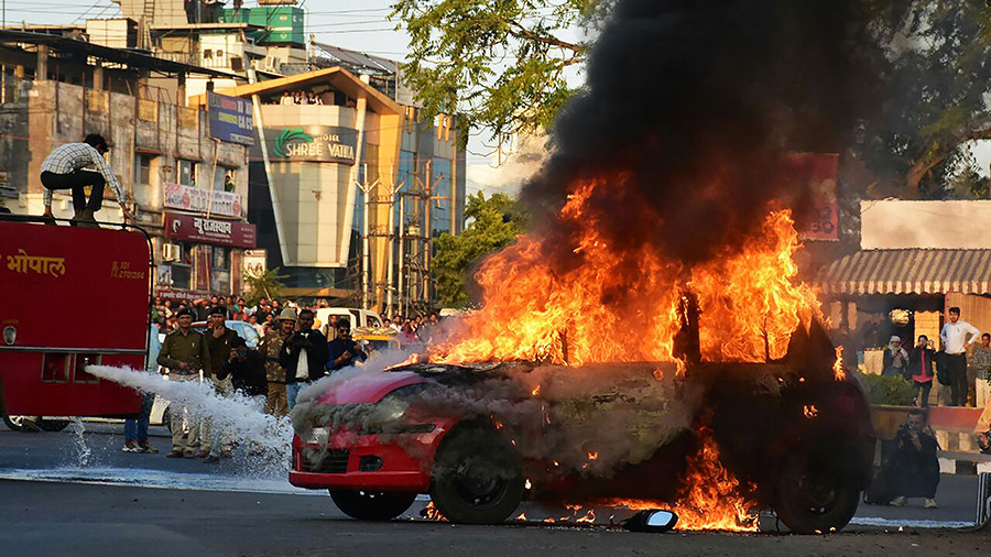 Cars torched, schools shut: Bollywood movie on Muslim king & Hindu queen sparks violence in India
