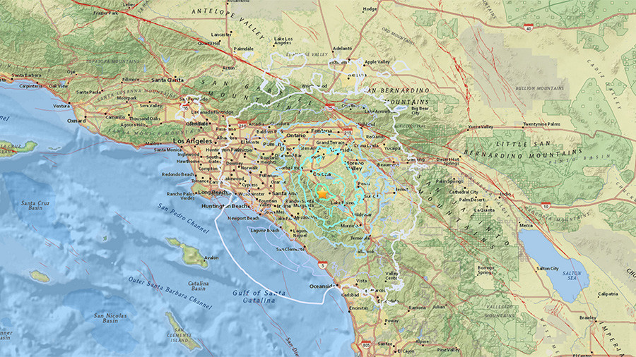 Los Angeles hit by 4.0 magnitude earthquake, felt across S. California