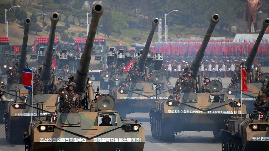 North Korea could stage 'intimidating' military parade day before Olympic Games – Seoul