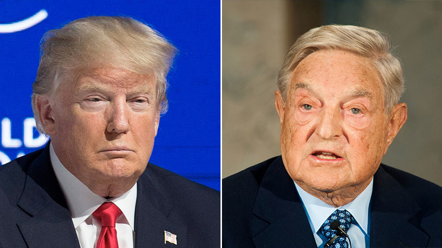 Soros accuses Trump of seeking 'mafia state,' pledges to devote efforts to Europe & US