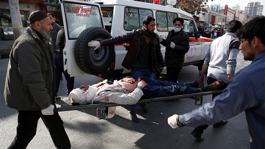 Death toll from Kabul suicide blast rises to 95, over 150 injured