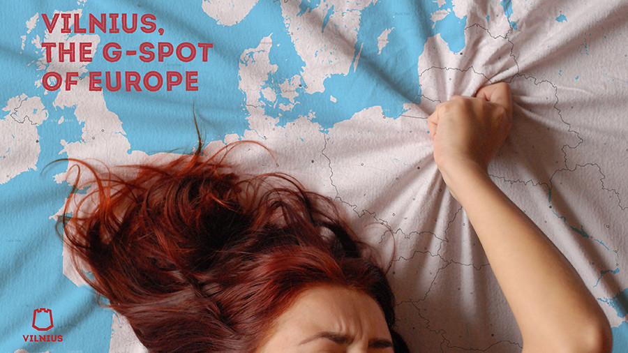 'G-spot of Europe' discovered in Lithuanian ad campaign
