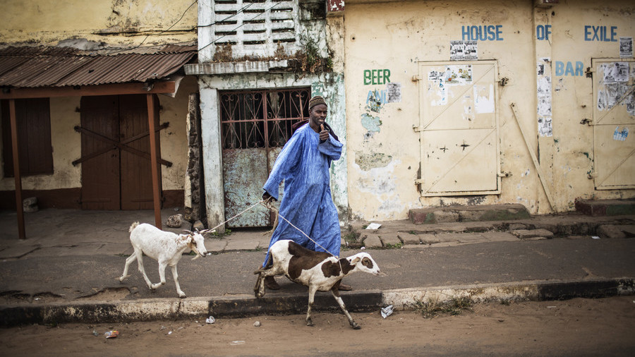 Nigerian man beaten by mob for 'turning human into a goat'
