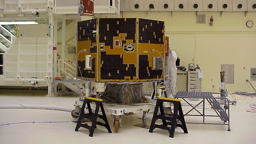 Lost NASA satellite discovered after a decade