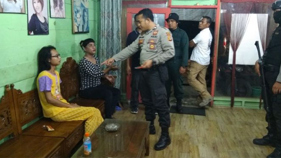 Police detain transgender women in Indonesia, 'coach' them to become 'real men'