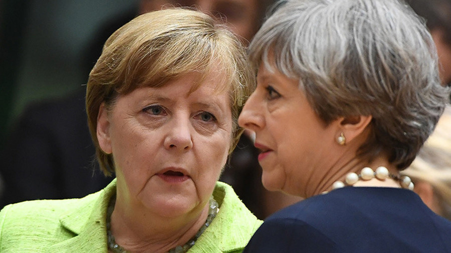 Merkel ridicules May at Davos, adding to long list of EU misery for British PM