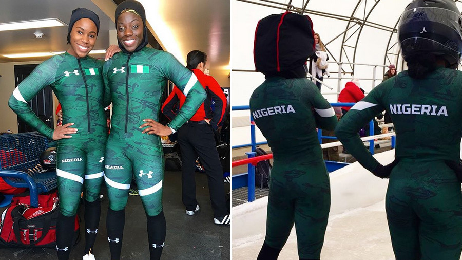 Nigerian sprinters to make history at PyeongChang Winter Olympics