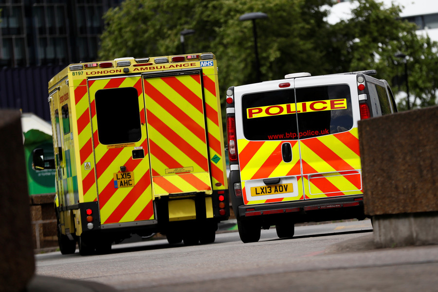 British police investigate body found in London's Canary Wharf