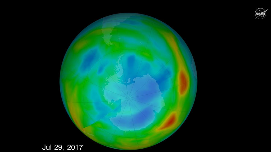 It's official! CFC ban is shrinking hole in ozone layer, says NASA