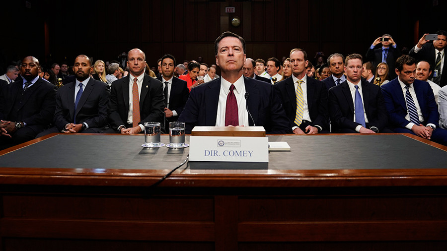 All seven Comey documents were labeled classified - report