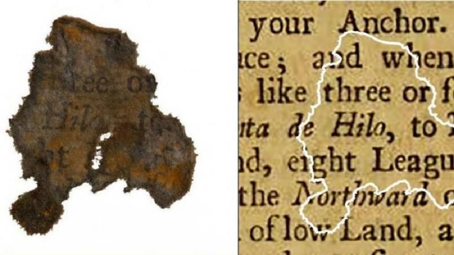 Pirate paper scraps reveal Blackbeard's reading habits