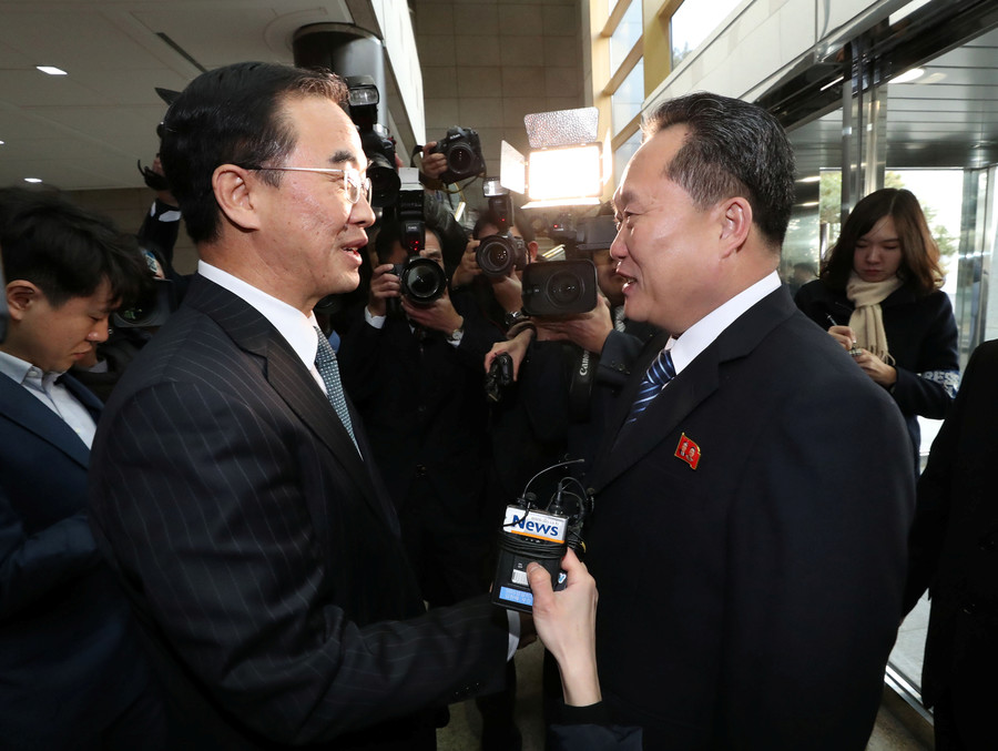 North & South Korea agree to reopen military hotline at landmark talks