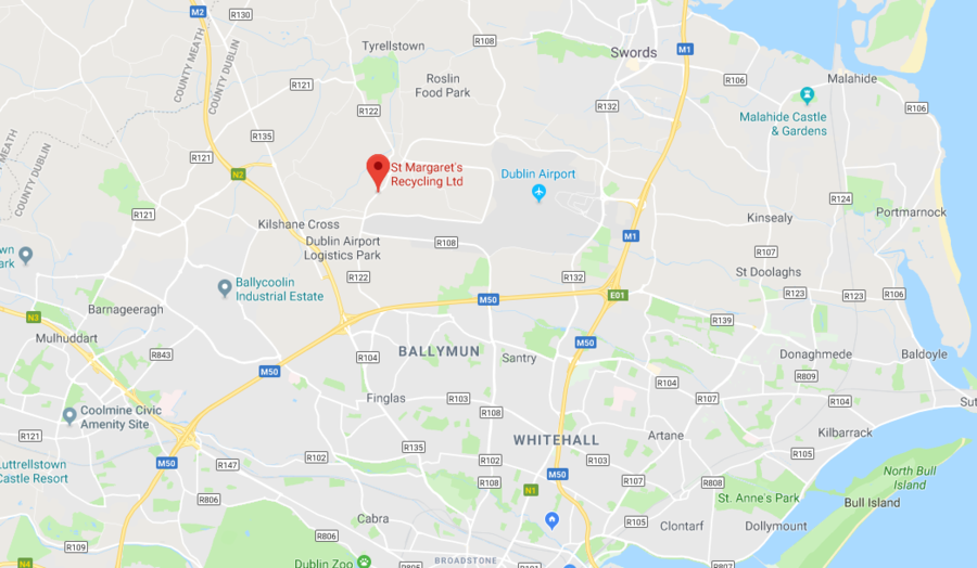 Firefighters battle huge blaze beside dublin airport videos photos google maps gumiabroncs Image collections