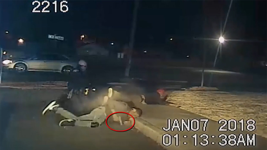 Graphic video shows suspect firing on Arkansas police before fatal shooting
