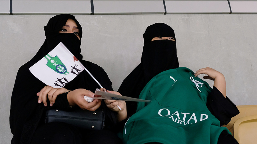 Saudi Arabia allows women to enter football stadiums for 1st time in history