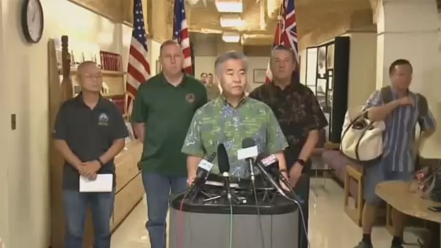 Oops… Hawaii governor was late in retracting false missile alert because he 'forgot' Twitter login