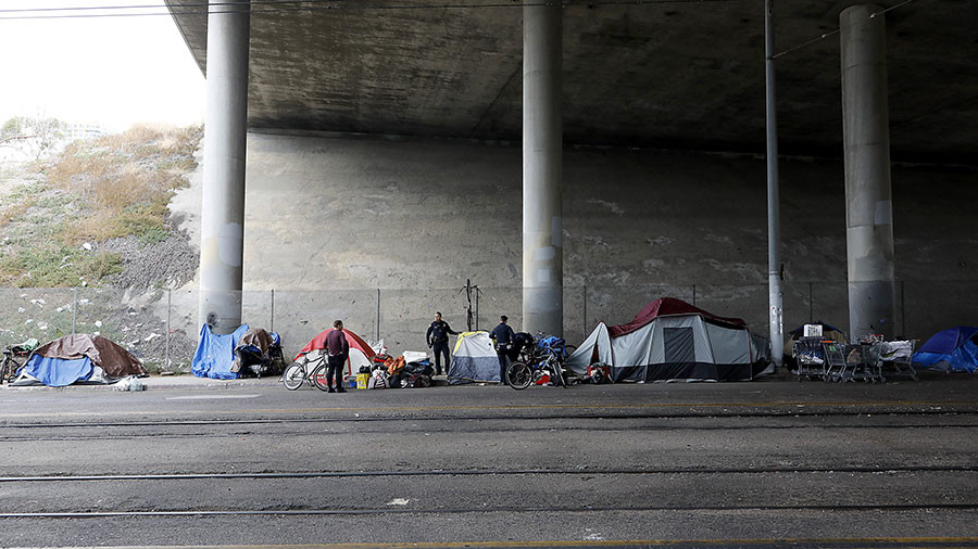 'An unjust law': 9 charged with feeding homeless in California