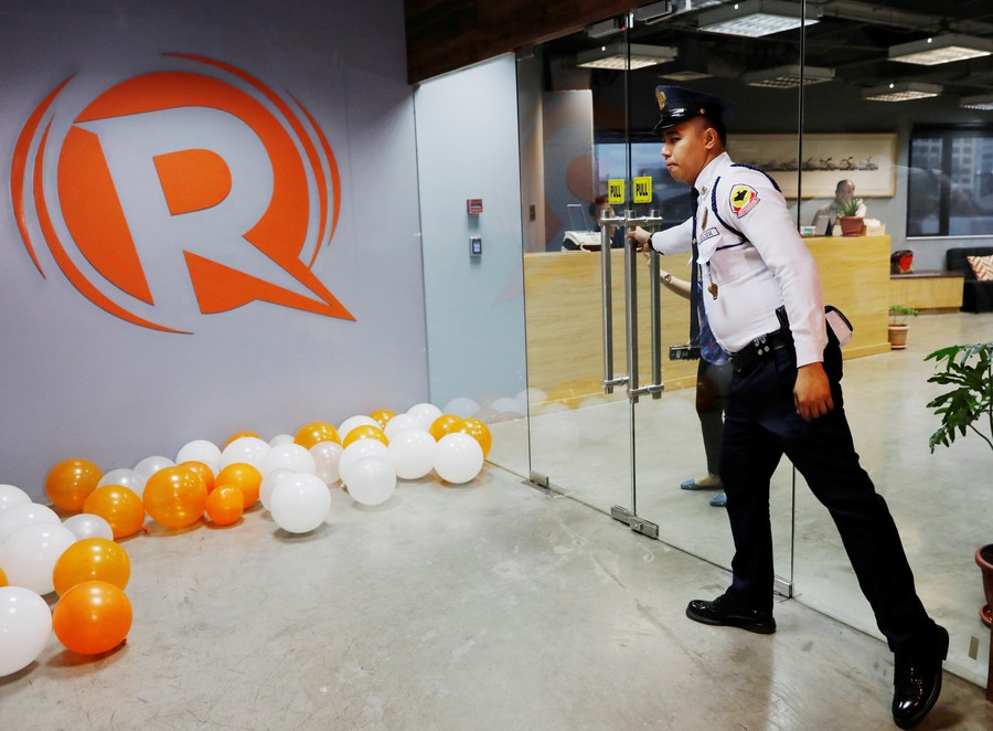 Attack on the press? Philippines revokes license for major news outlet Rappler