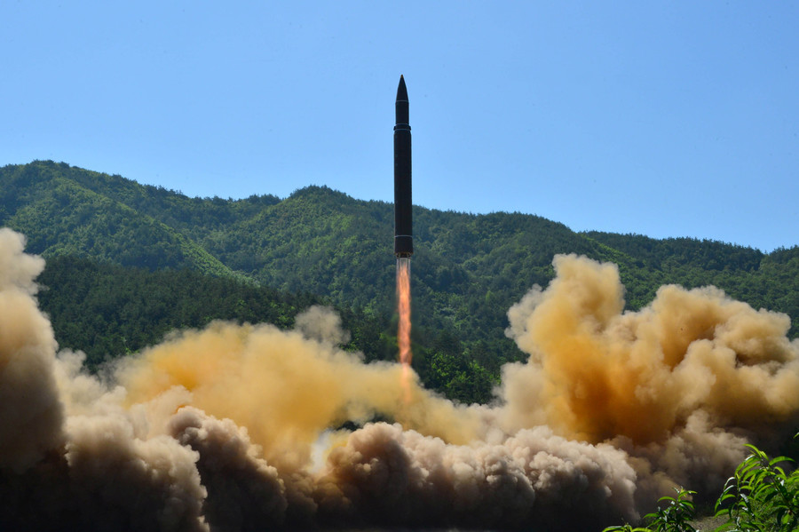 Hong Kong-bound flight witnessed N. Korean missile – Tillerson