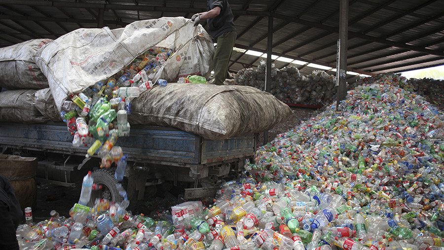 China no longer wants Western garbage