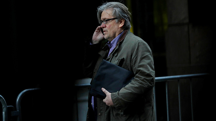 Bannon in spotlight on Russia probe, but much remains secret