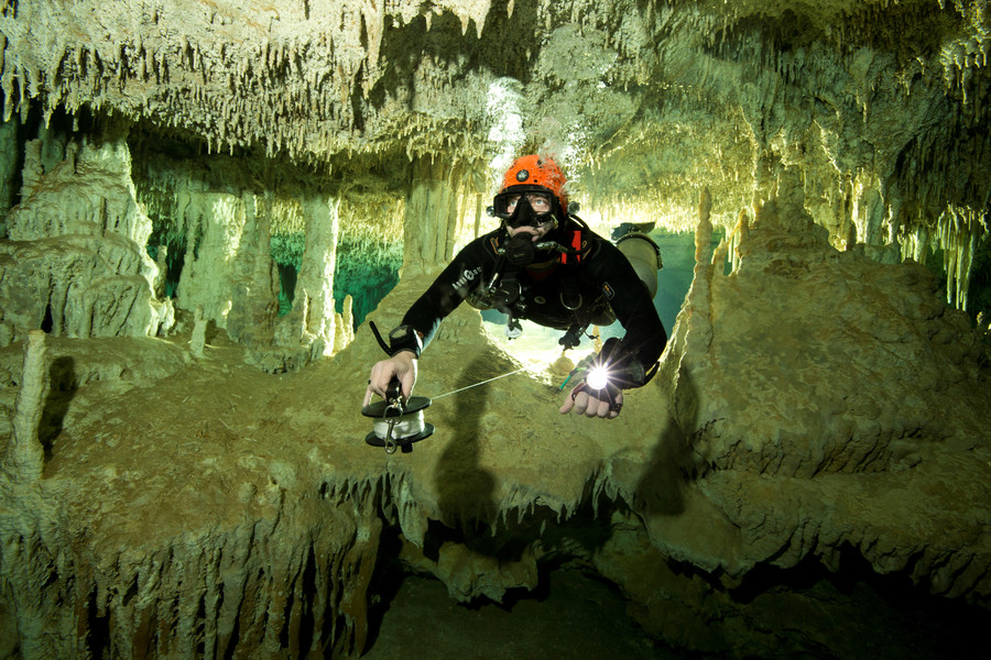 World's 'longest' underwater cave system discovered in Mexico (VIDEO, PHOTOS)