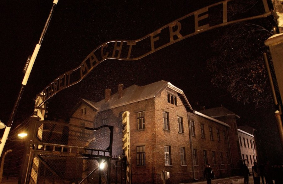 Nude protest & sheep slaughter at Auschwitz death camp now end in prison sentence for artists