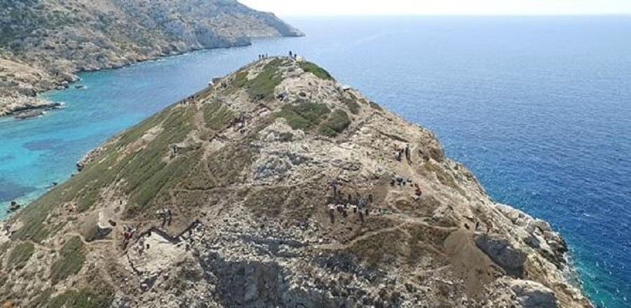 Sophisticated technology unearthed beneath ancient Greek 'pyramid'