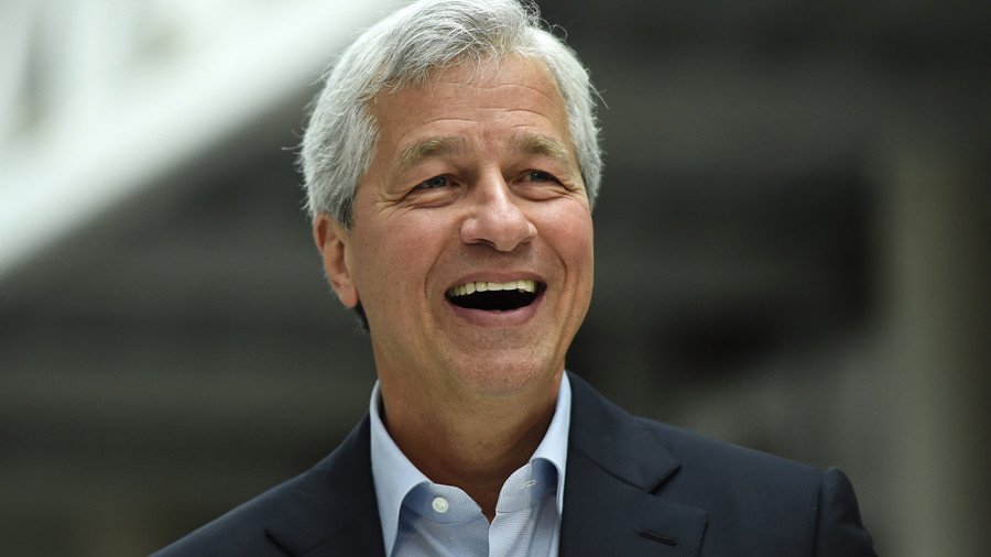 JPMorgan boss Dimon's pay boosted to $29.5 million while 250,000 workers get no raise