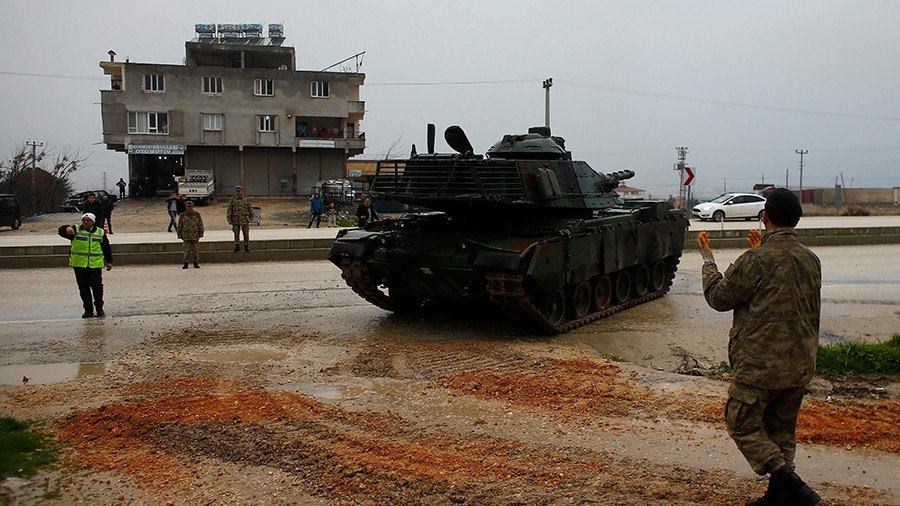 'No stepping back' from Afrin campaign: Turkish Army takes offensive to Azaz district
