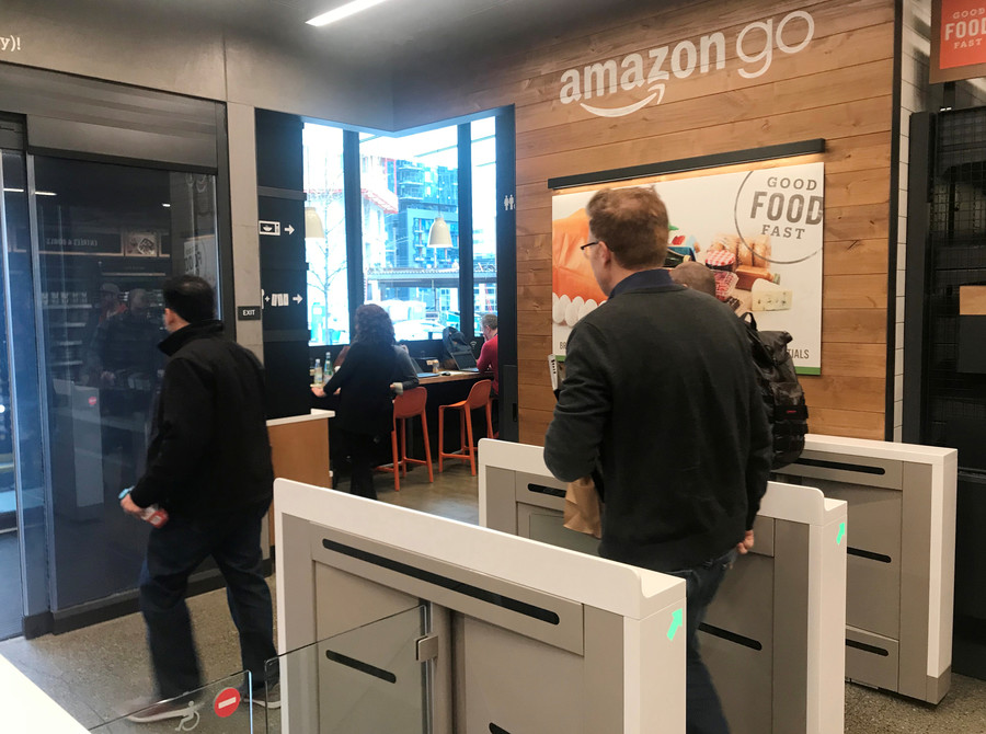 Surveillance store: Amazon's 100 plus cameras watch you while you shop