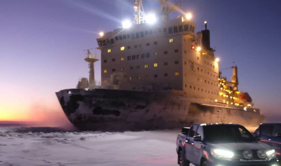 Russian icebreaker beats record for nuclear propulsion plant longevity