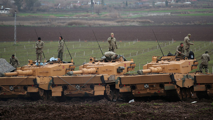 Syria showdown: Turkey takes aim at Manbij, but Washington says US forces aren't leaving