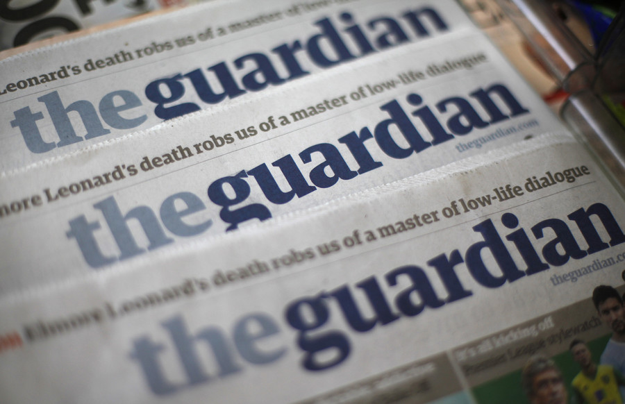 Kremlin cash cow? The Guardian's argument against Russia collapses as columnist reveals money plot