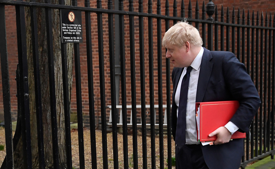 'Proper b****-slapping': Boris Johnson battered by ministers amid claims he'll step down