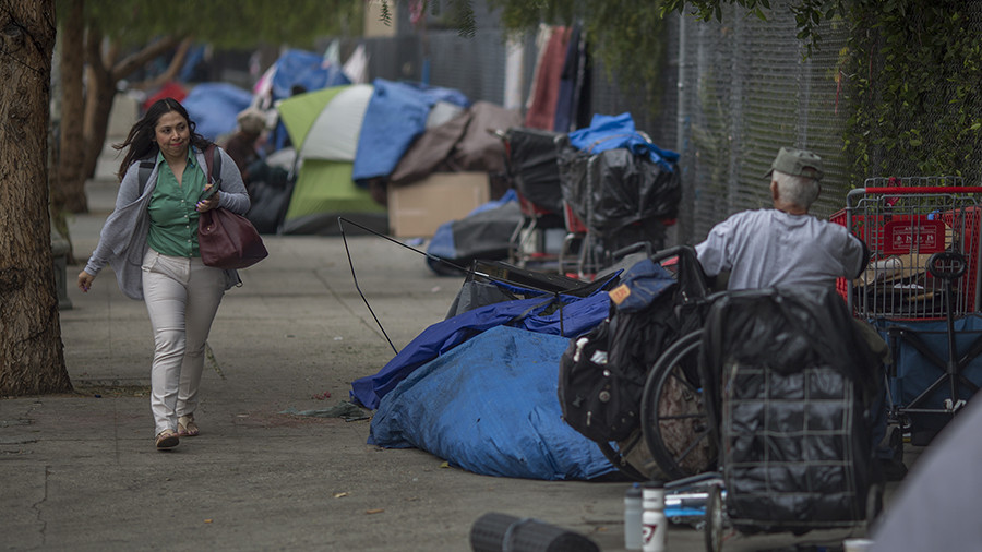 191 LA homeless camps are in high fire hazard areas
