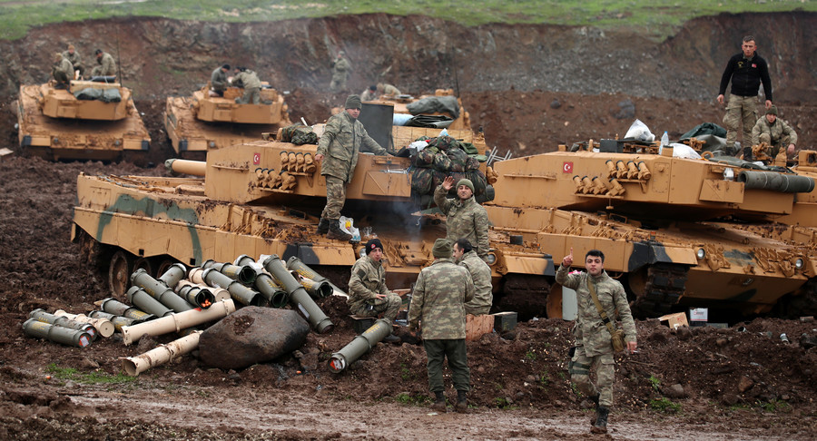 Turkish op in Afrin leaves 'grim tally' of children killed, 'fleeing families' in Syria – UNICEF