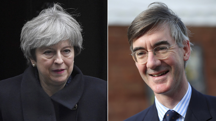 New Tory civil war? Govt risks ripping apart as rumors swirl of a Theresa May 'no confidence' vote