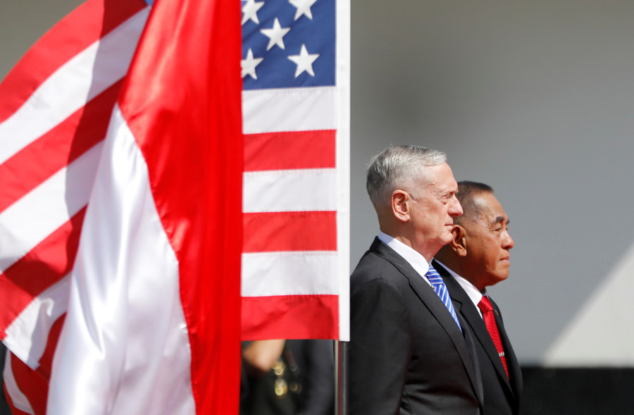 Pentagon boss just doesn't understand how US operates around the world