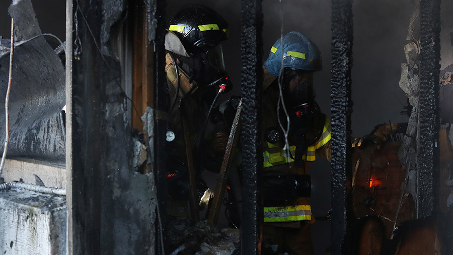 37 killed, 70+ injured in blaze at South Korean hospital adjoining nursing home (PHOTOS)