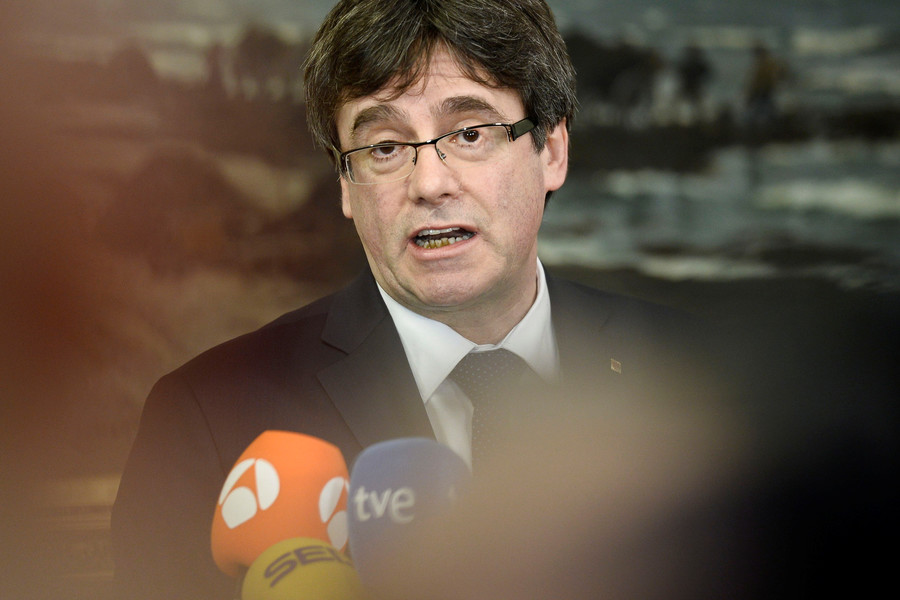 Top court insists fugitive Catalan leader must return to Spain to be re-inaugurated