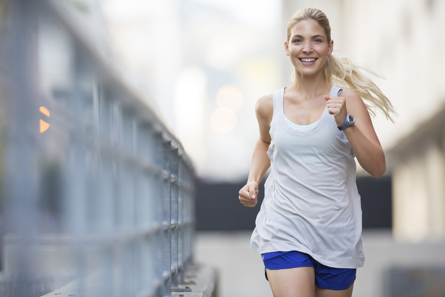 Scientists find 'happy' secret to improving your running