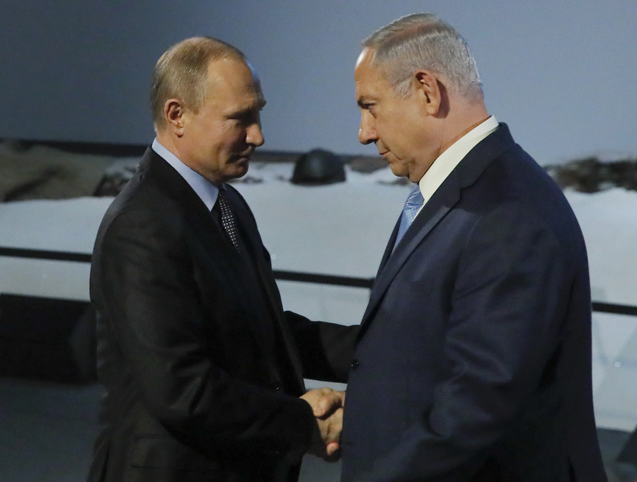Radio silence after 'very productive' Putin-Netanyahu Moscow talks