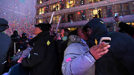 New Year's celebrations on Times Square